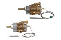 Thermostatic gas valves